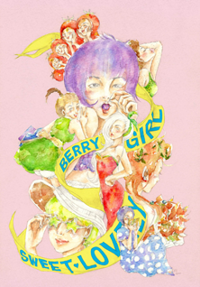 Sweet lovely berry girls