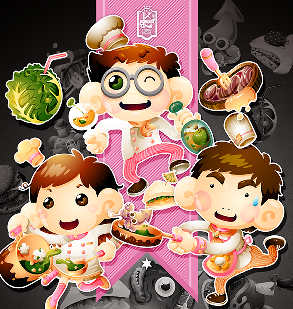 the 3 chefs