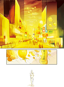 Yellow Comic
