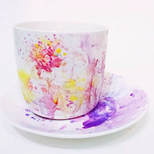 Watercolor Cup