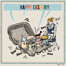 2016/04 Happy Easter!