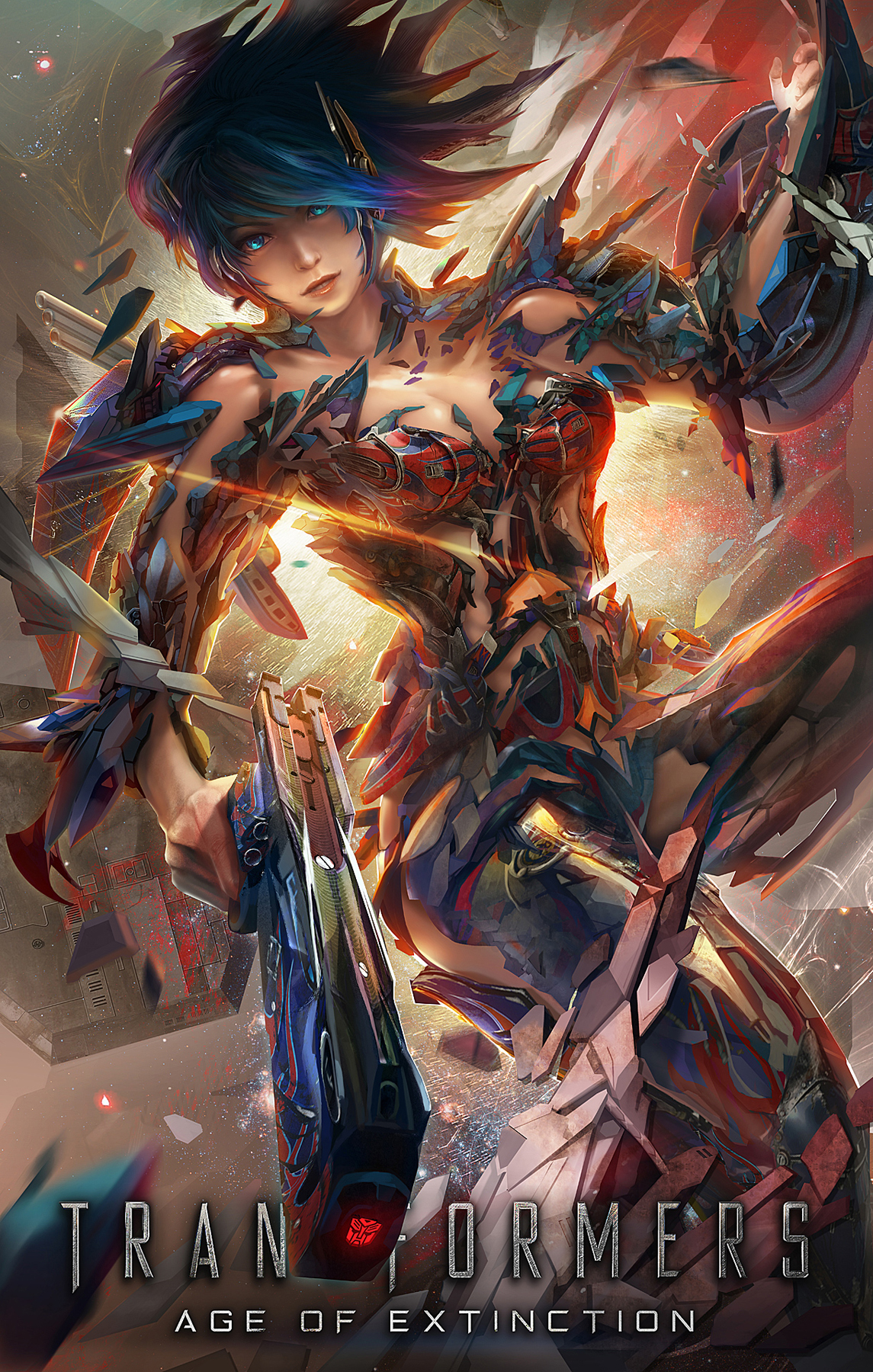 optimus prime girl side
