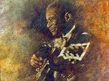 BB King, my favourite blues artist. 1925-2015.