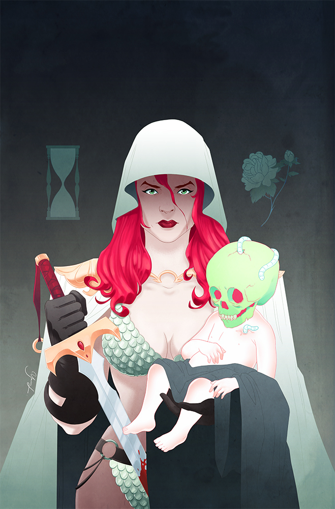 Red Sonja #14 Variant Cover