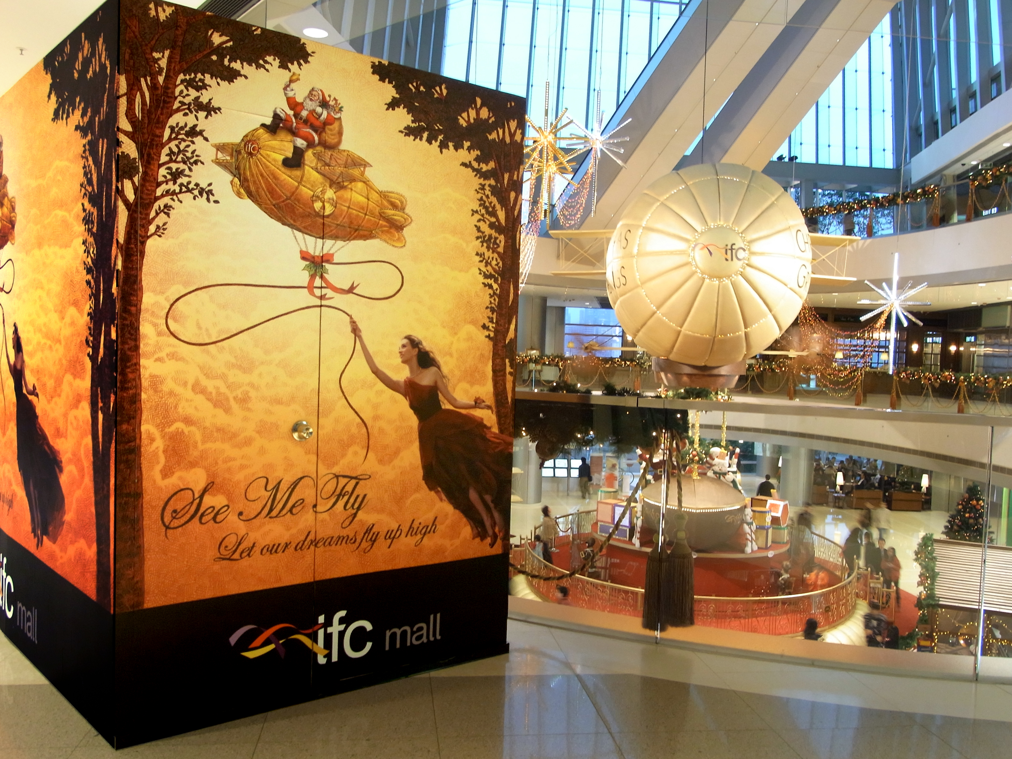 IFC X'mas Promotion Finished Display B