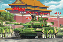 Chinese main battle tank 99A1
