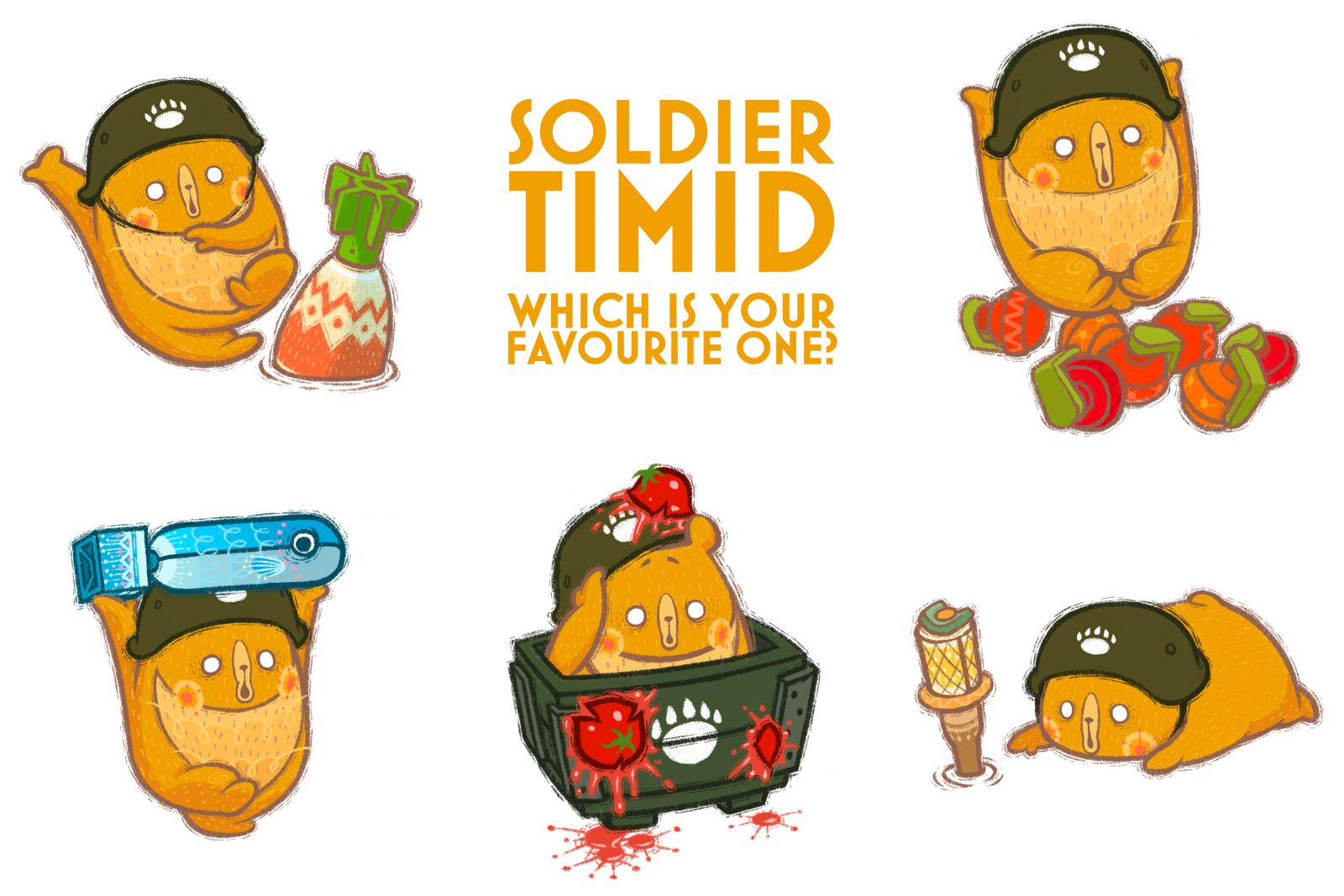 Soldier Timid
