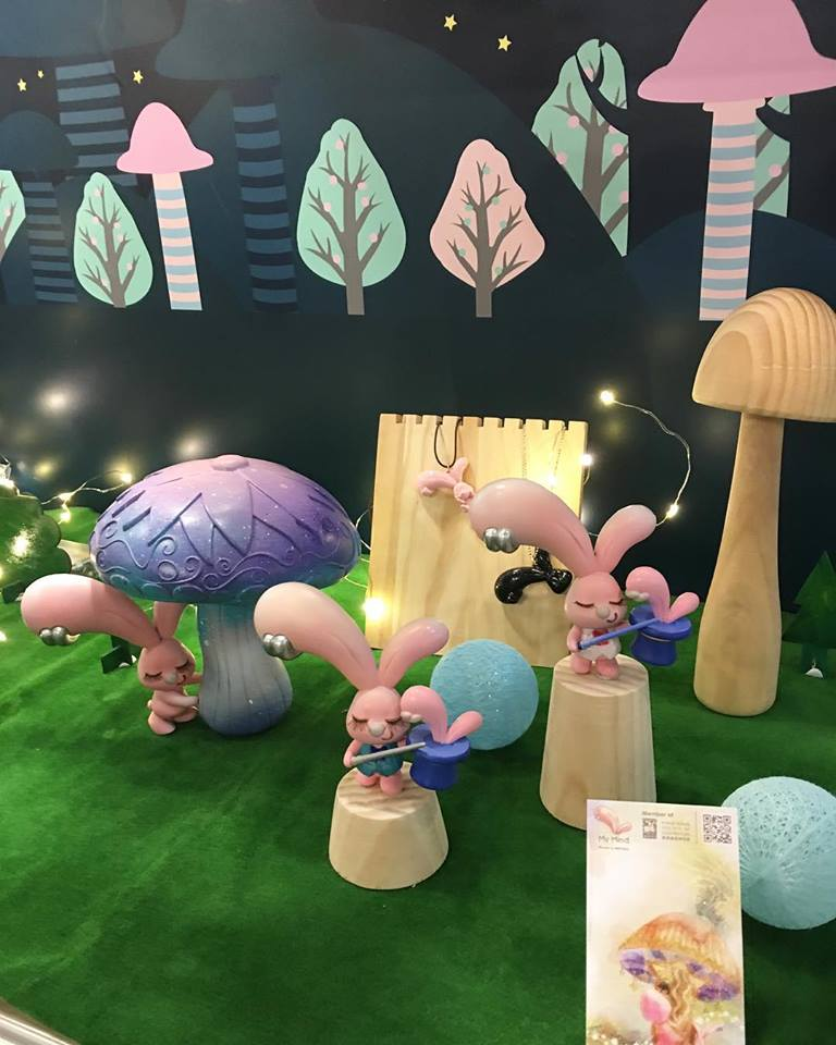 The Hidden Rabbit figure for TAIPEI TOY FESTIVAL 2018