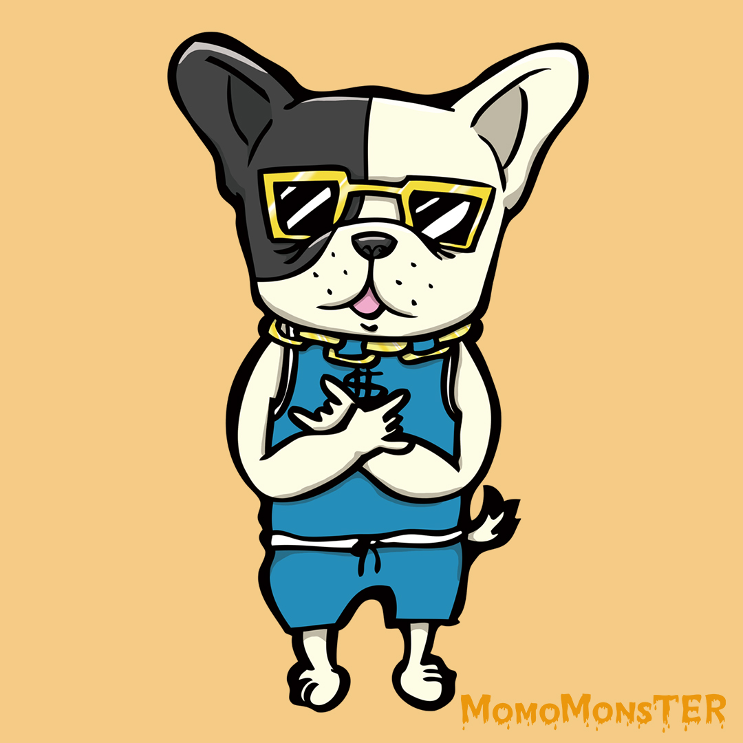 HipHop french bulldog