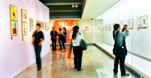 """The Second China Illustration Exhibition"" Guan Shanyue Art Museum show 400 pieces"