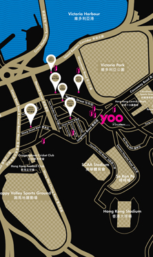YOO Residence Location Map