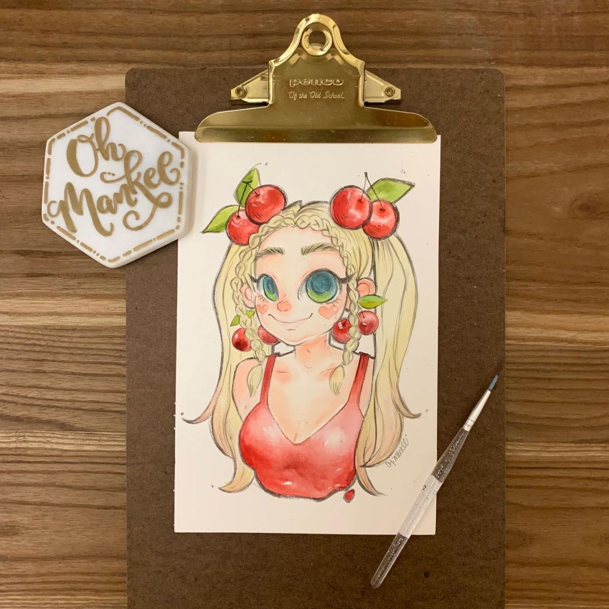 Watercolor Character ArtWatercolor Character Art 水彩角色插畫