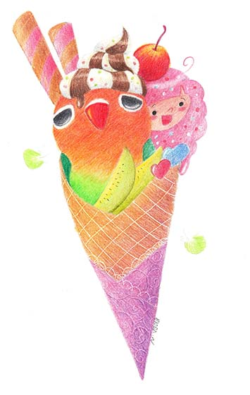 Noddy ice-cream